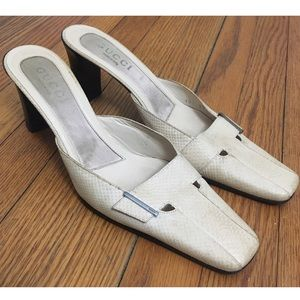 Gucci Authentic Vintage Heeled Mules